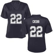 Replica Women's Zane Cribb California Golden Bears Navy Football College Jersey